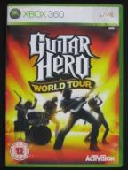 GUITAR HERO WORLD TOUR   XBOX 360 GWARANCJA BDB!