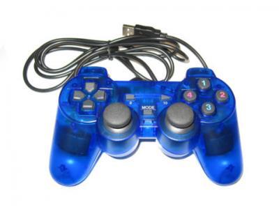 PC PAD DUAL SHOCK USB PODWOJNA WIBRACJA PS2