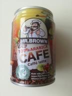 Kawa puszka Mr. Brown 100% arabica latte 250 ml