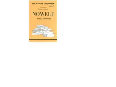 Biblioteczka Opracowań Nowele Henryka