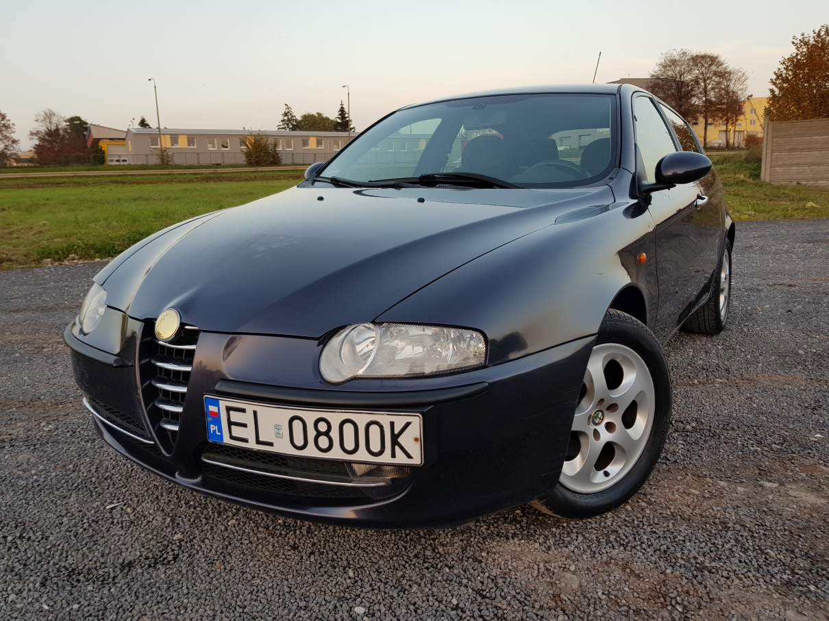 Alfa Romeo 147 2004 Rok 1 6 T Spark Gaz Salon Pl 7013862144 Oficjalne Archiwum Allegro