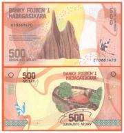MADAGASKAR - 500 ARIARY - 2017 - UNC