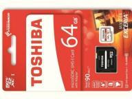 Karta micro SD 64GB Toshiba UHS-3 adapter 97mb 4K