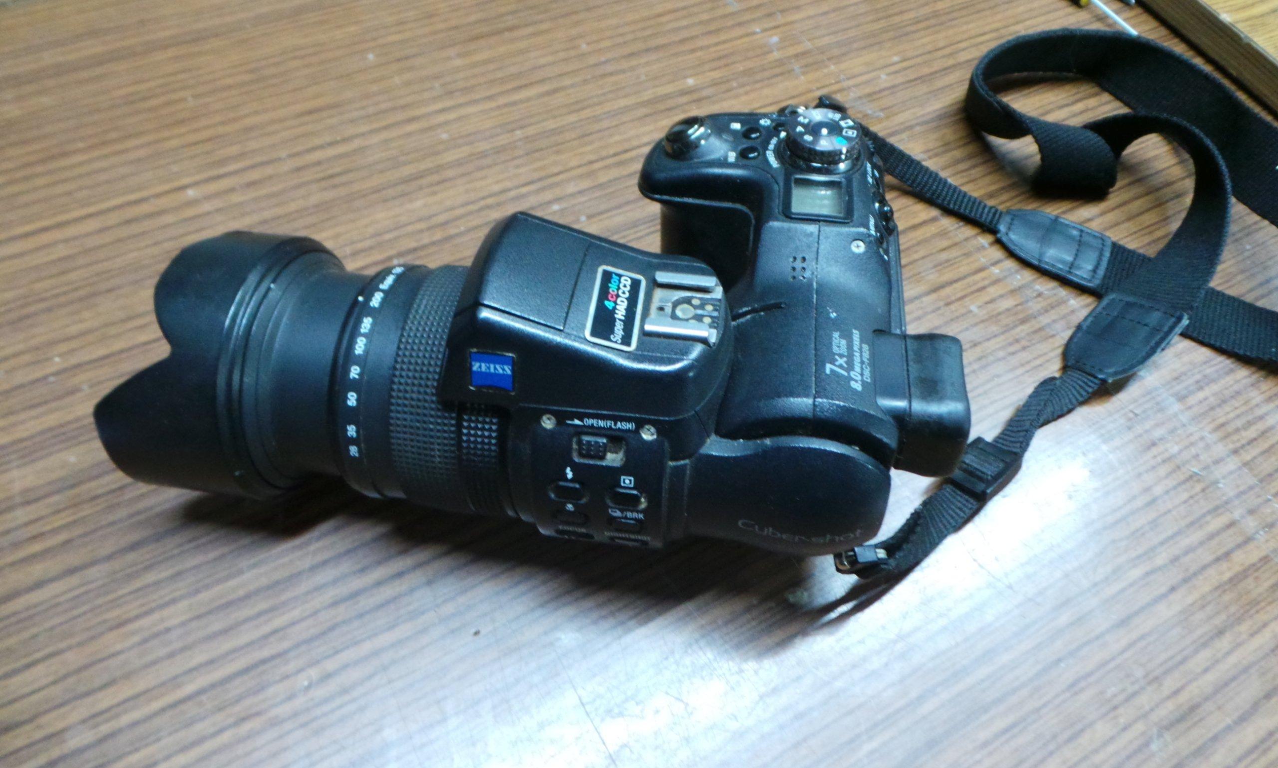 Sony DSC-F828 stan nieznany