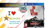 The Evil Within w Pudełku PS4 GrajLandia !!!