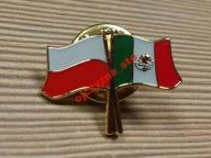 Przypinka pin wpinka POLSKA Meksyk