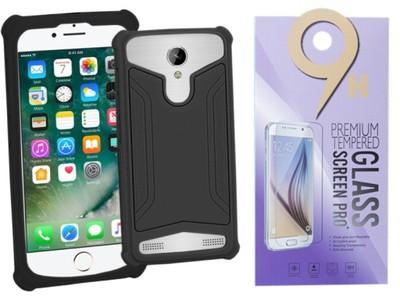 Etui pokrowiec + SZKŁO do myPhone Q-Smart II Plus