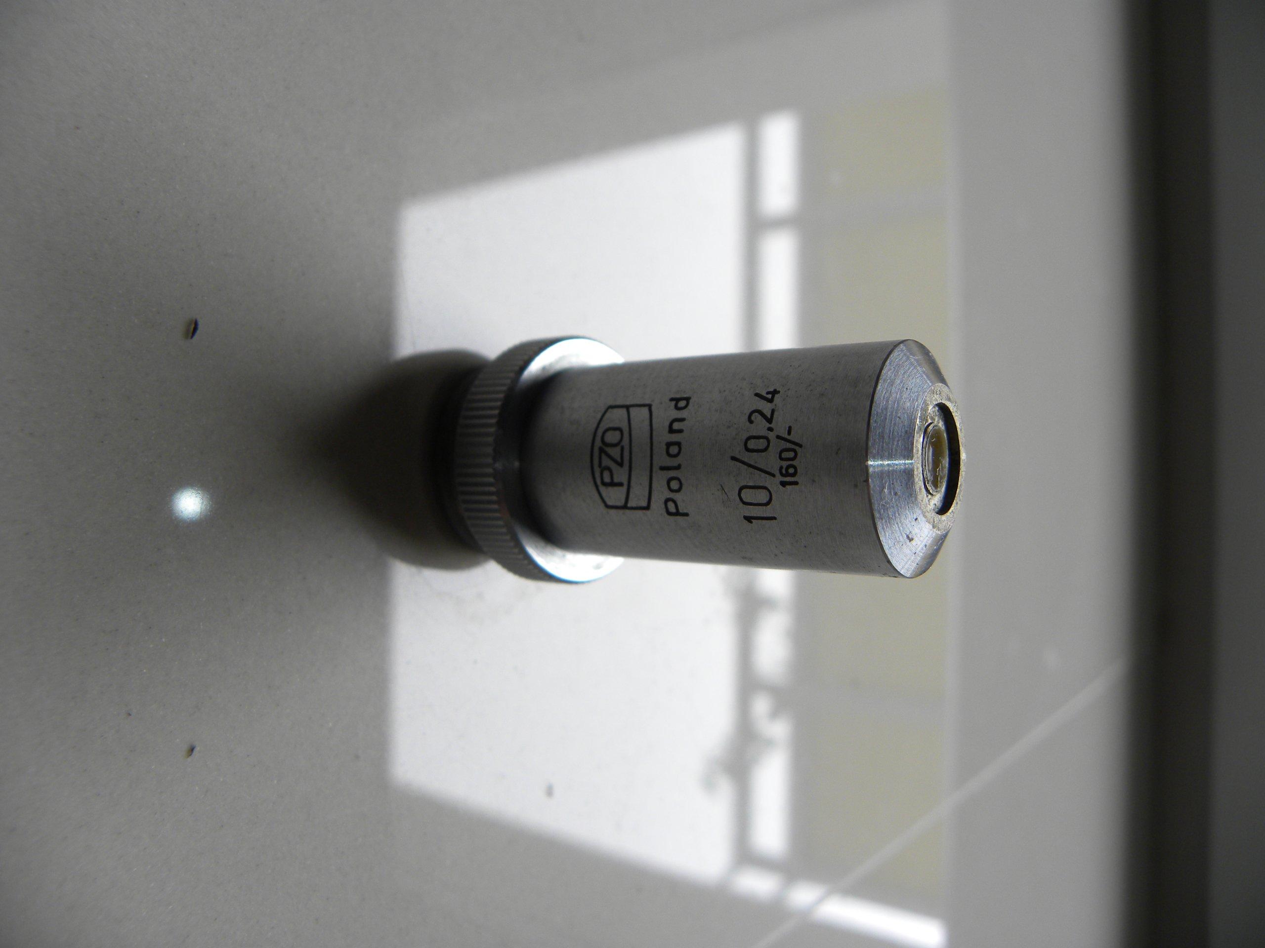 Obiektyw 10/0,24 PZO mikroskop