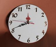 Zegar ścienny cyfry arabskie BEZ MECHANIZMU _TARCZ