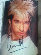 LIMAHL - zdjęcie z autografem