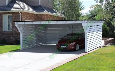 Wiata Garażowa Garaż Z Drewna Na 2 Auta Carport 6720289697