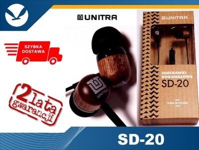 SŁUCHAWKI UNITRA SD-20 drewno SKLEP dostawa 24H