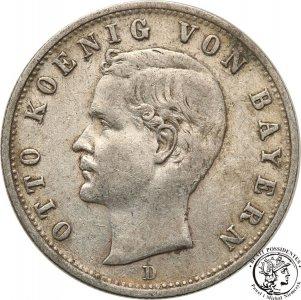 Niemcy Bawaria 2 Marki 1902 D Monachium st.3