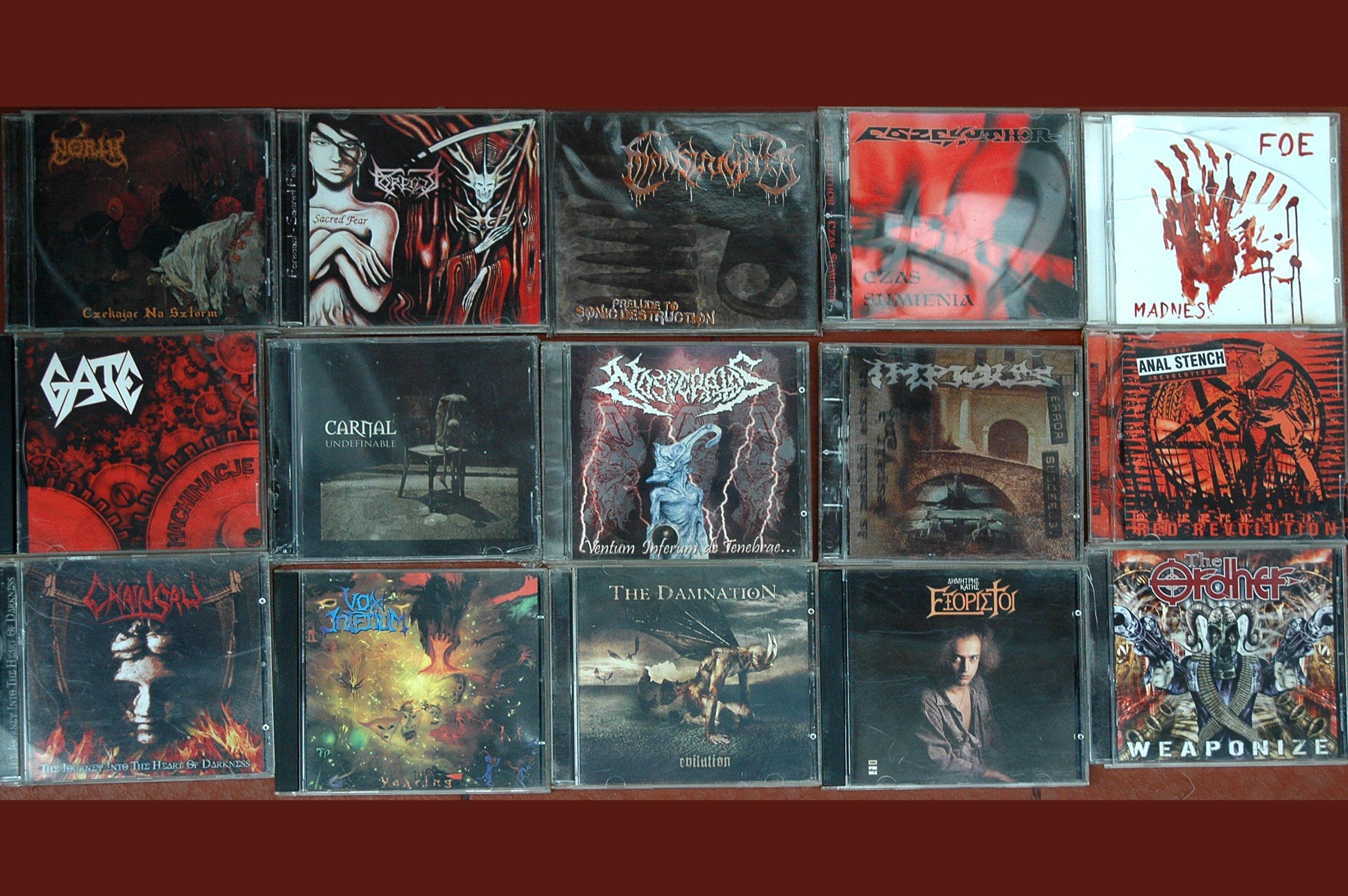 Metal Black Metal Kolekcja Plyt Cd 255 Szt 7016254962 Oficjalne Archiwum Allegro