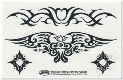 Tatuaż Tatuaże Dla Dzieci Znaki Tribal Wzory 6124249536