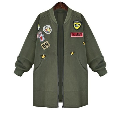 Kurtka Damska Militarna Bomber Armia Black 3xl 24h 6684499995 Oficjalne Archiwum Allegro