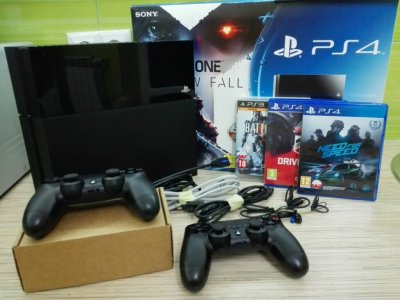 konsola PS4 playstation 4 500 GB * gry * 2 PADY