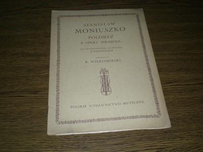 Moniuszko - Polonez z opery Hrabina na wiol. 1946