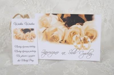 Zaproszenia ślubne Na ślub Cywilny Z Kopertą 5332888652