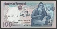 Portugalia - 100 escudos - 1985 - stan bankowy UNC