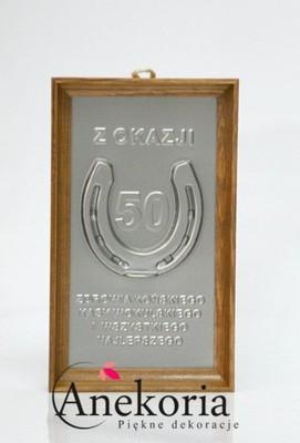 Podkowa Obrazek Prezent Na 50 Urodziny 50 Tkę 6187778980