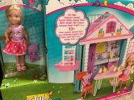 Barbie Club lalka Chelsea z domkiem, Mattel