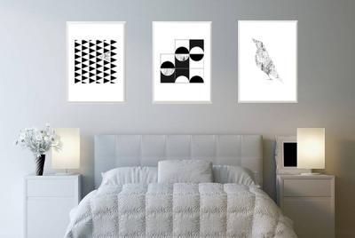 3szt Plakatów Na ścianę 3szt 50x70cm