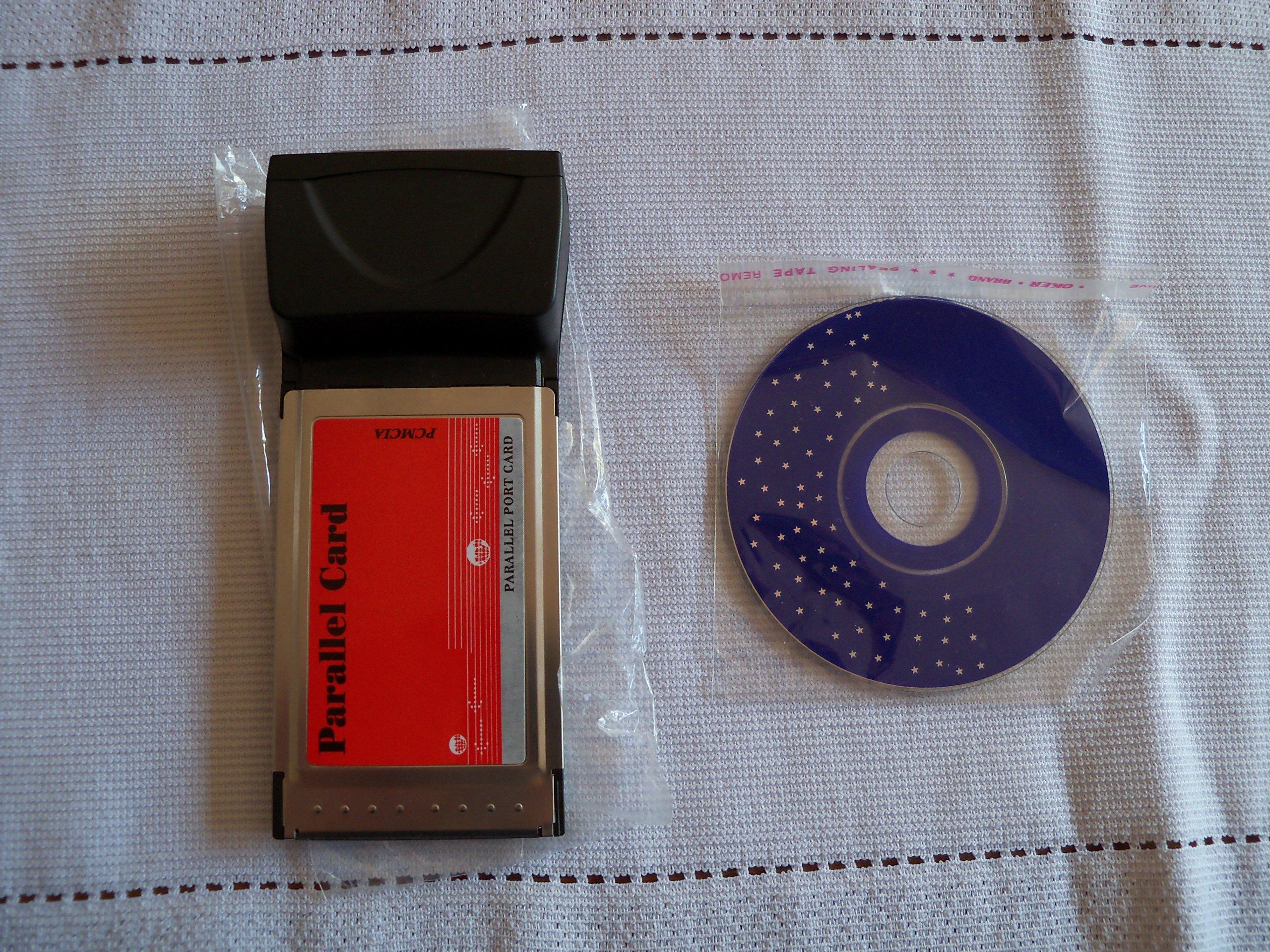 Przejściówka PCMCIA -> LPT 25pin równoległy lap