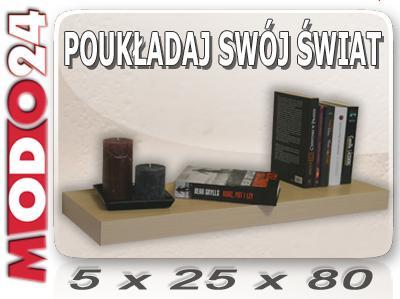 Półki ścienne Jak W Ikea Pk8d Z Ukrytym Mocowaniem