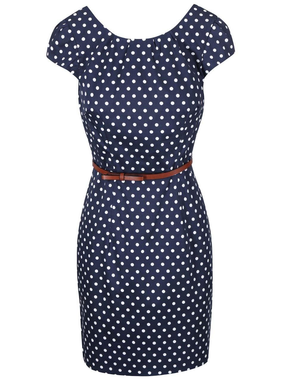 fa27f8dfcc Vero Moda elegancka sukienka w groszki S 36   - 7049018216 ...