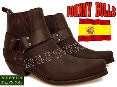Hiszpańskie Kowbojki JOHNNY BULLS 4709 Brązowe Sprinter Marron