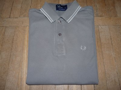 Fred Perry polo szare XS ideał