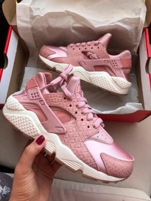 separation shoes fd7f0 7e24d Nike Huarache różowe 38