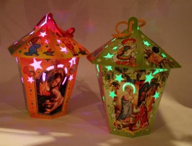 Lampiony Adwentowe Led Lampion Na Roraty Adwent 3694789071 Oficjalne Archiwum Allegro