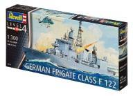 Model do sklejania REVELL German Frigate Class F12