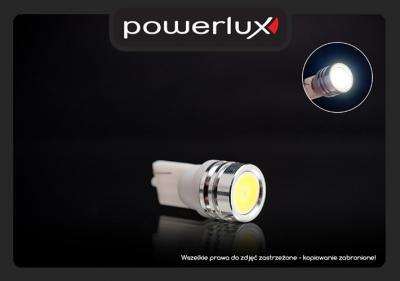 Żarówka LED W5W HIGH POWER LED (biały, niebieski)
