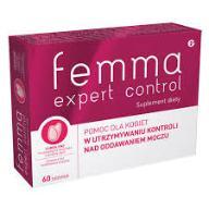 FEMMA EXPERT CONTROL nietrzymanie moczu feminost