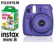 FujiFilm Instax Mini 8 FIOLETOWY + 2x Mini Film