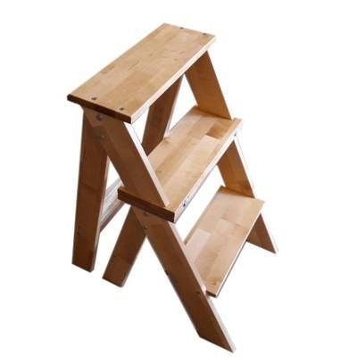 Krzesło Drabinka 3 Stopniowa Drewniana Do Kuchni 6897331824 Oficjalne Archiwum Allegro