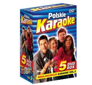 POLSKIE KARAOKE vol.2 PRZEBOJE MEGA KOLEKCJA 5xDVD