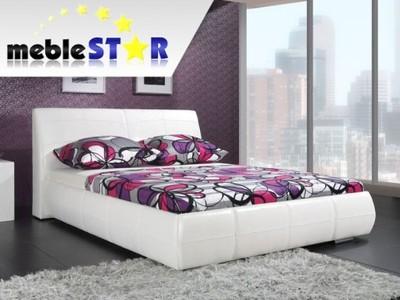 łóżko Tapicerowane Do Sypialni Garda Z Pojemnikiem