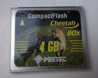 Karta  Cheetah 80x  4GB