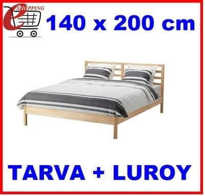 Ikea Rama łóżka 140x200 Dno Stelaż Tarva Luroy