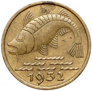 1033. Gdańsk, 10 pfennig 1932, st.3