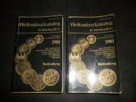 KATALOG MONET -20 w. WYD 1980- WELTMUNZKATALOG