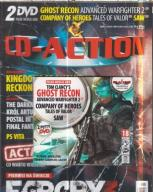 3/2012  CD ACTION.2 DVD.GHOST RECON TOM CLANCY`S