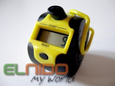 Klikacz Kliker licznik bądź jak B. Szyc LCD Żółty
