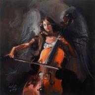 Klavdio _____________ MELODIA ... ____ obraz anioł