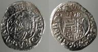 1332. Wegry, Rudolf II Habsburg, denar 1578