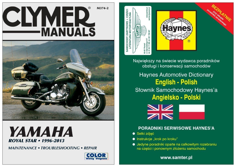 YAMAHA XVZ 1300 Venture Tour 1997-2013 instrukcja ... on